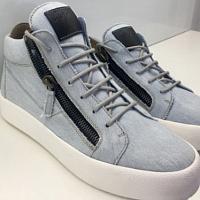 993341d0 Giuseppe Zanotti использовал деним и брезент при создании новой коллекции  обуви