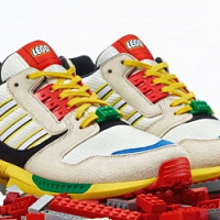 Lego and Adidas ZX 8000 collaboration released