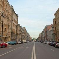 San Petersburgo tiene una tasa máxima de disponibilidad en las principales calles comerciales