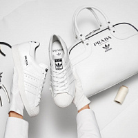 Prada and Adidas officially announce the collaboration of Superstar Sneaker