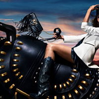 Das amerikanische Topmodel Lily Aldridge wurde zum Gesicht von Pinkos Werbekampagne