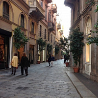 Geschäfte in Italien wieder aufgenommen