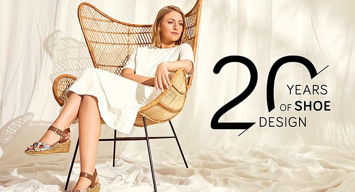 20 anni con Jana: nuova collezione del marchio tedesco di calzature SS'21 in onore dell'anniversario