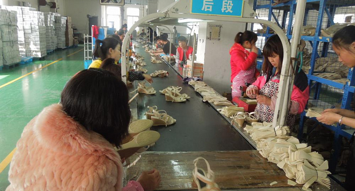 Silent revolution in the shoe market
