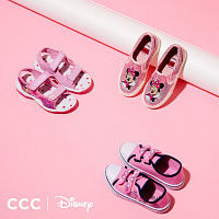 CCC has released a collection of children's shoes and accessories with Disney cartoon characters