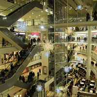 Vacancy in St. Petersburg shopping centers in the second quarter increased slightly