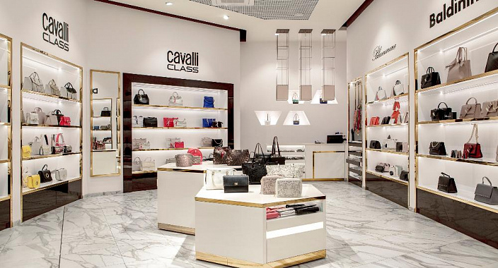 Regole di progettazione per un negozio di scarpe e accessori