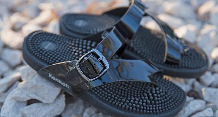 Il marchio giapponese di scarpe da massaggio Kenkoh entra nel mercato russo