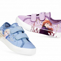 Geox has released a collection of children's shoes with the symbols of the Disney cartoon FROZEN II