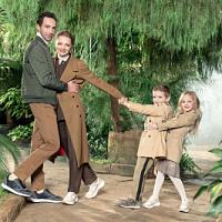 Ralf Ringer shot in the advertisement the family of actors Ekaterina Vilkova and Ilya Lyubimov