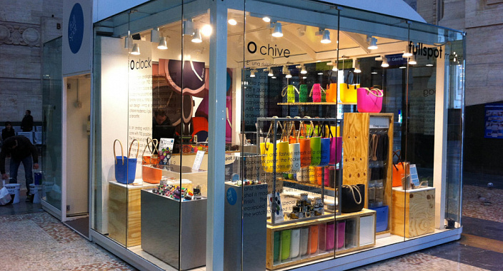 """Today, the formats of the so-called """"spontaneous"""" retail are gaining popularity. Talk about the store pop up store"""