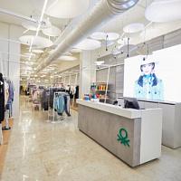 UNITED COLORS OF BENETTON abre tiendas en Rusia en un nuevo formato