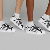 adidas Originals updated Superstar sneakers in collaboration with New York designers